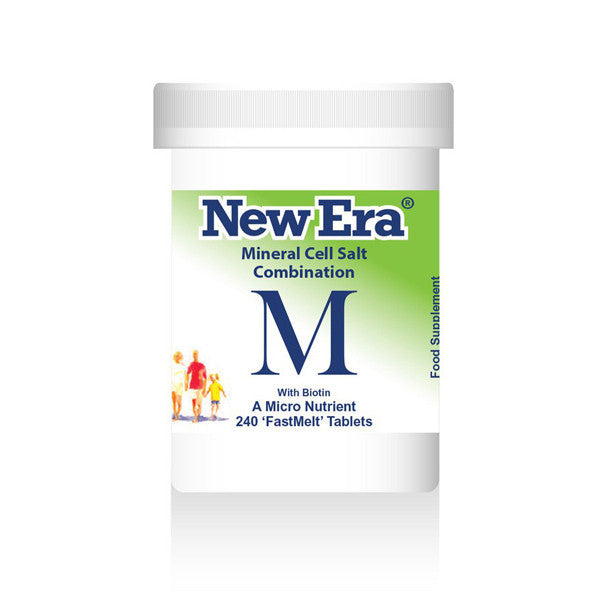 New Era Mineral Cell Salts Combination M