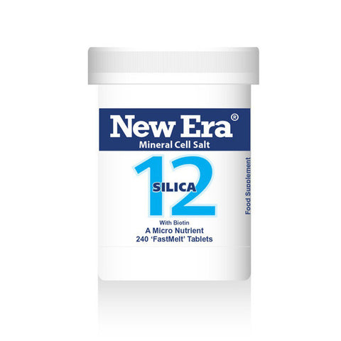 New Era Mineral Cell Salts No. 12 Silica