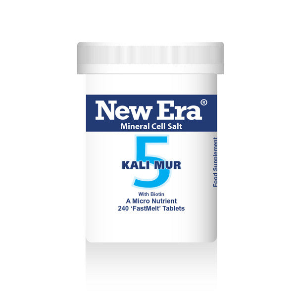 New Era Mineral Cell Salts No. 5 Kali Mur