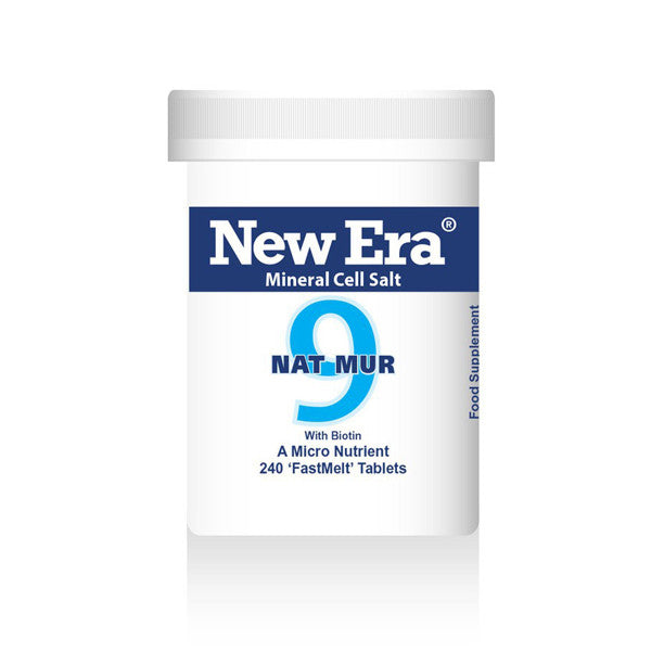 New Era Mineral Cell Salts No. 9 Nat Mur