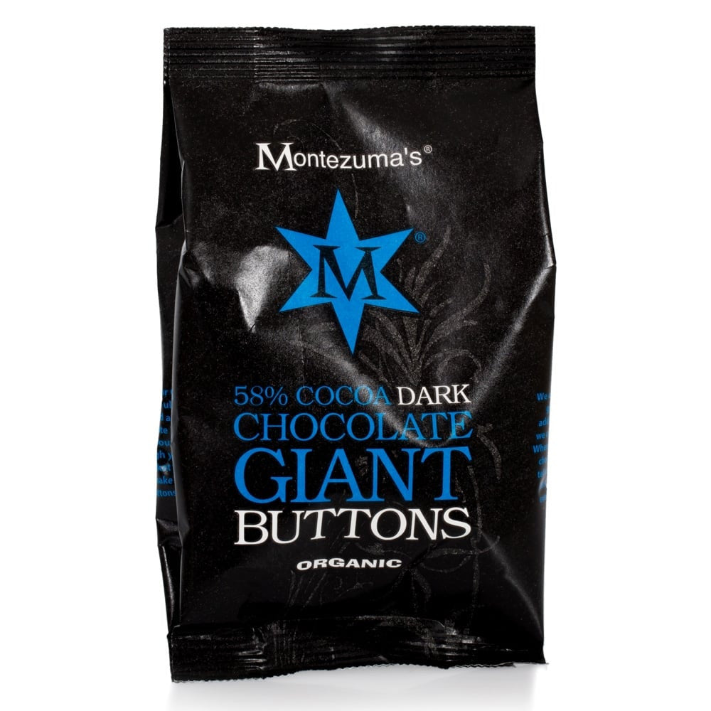 Montezuma's Giant Buttons - Dark Chocolate