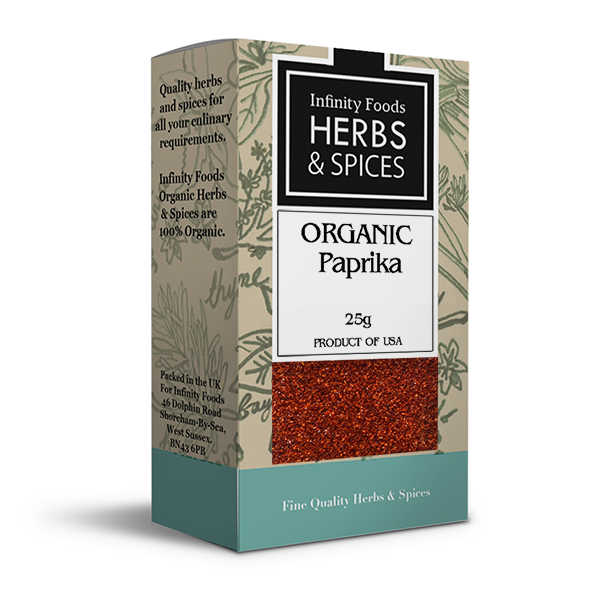 Infinity Herbs & Spices Organic Paprika
