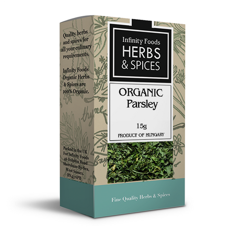 Infinity Herbs & Spices Organic Parsley