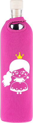 Flaska Kids Glass Bottle - Princess