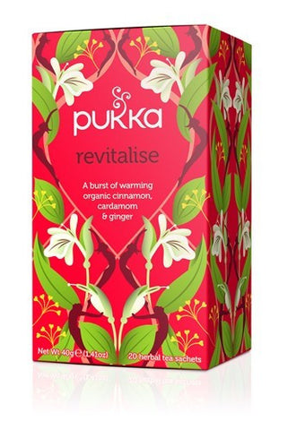 Pukka Revitalise Herbal Blend Tea