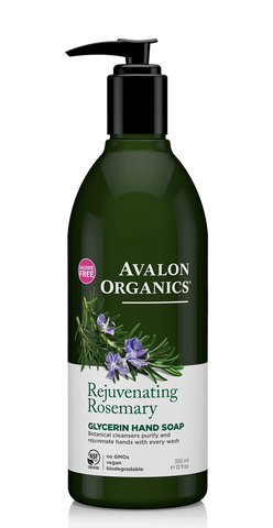 Avalon Rosemary Liquid Hand Soap