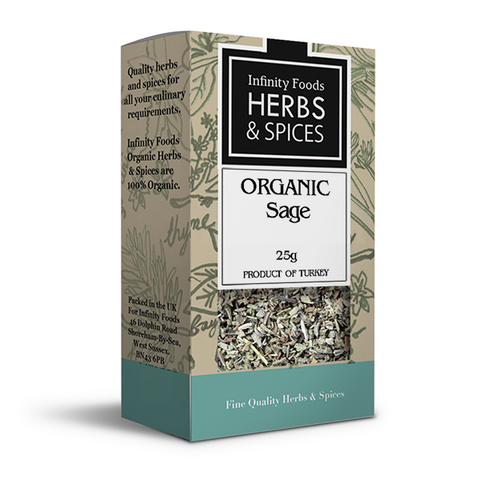 Infinity Herbs & Spices Organic Sage
