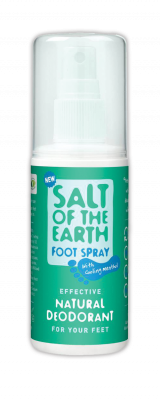 Salt of the Earth Natural Deodorant Foot Spray