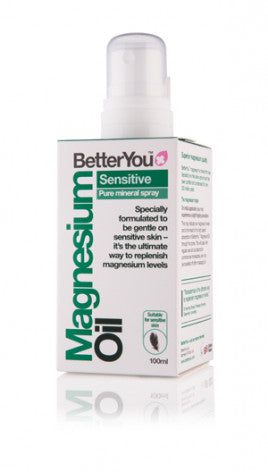 BetterYou Magnesium Oil Sensitive Spray