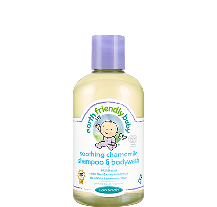 Earth Friendly Baby Chamomile Shampoo Bodywash
