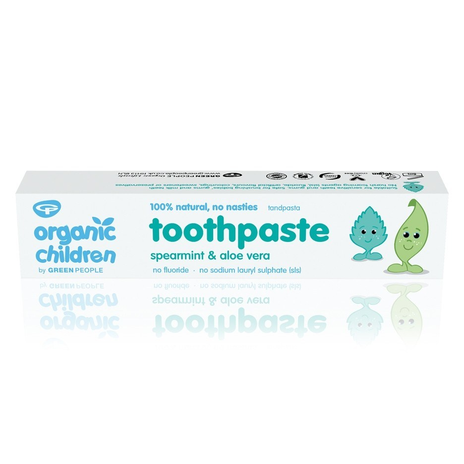 Green People Organic Children's Toothpaste - Spearmint & Aloe