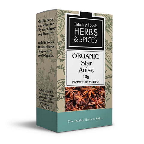 Infinity Herbs & Spices Organic Star Anise