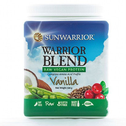 Sunwarrior Warrior Blend Raw Protein Vanilla