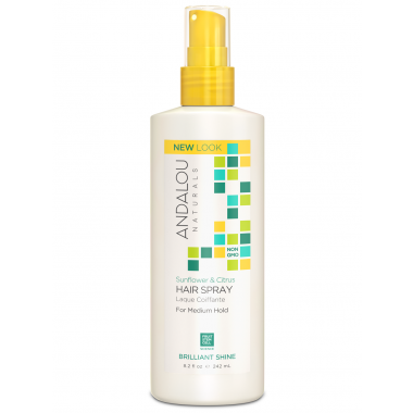 Andalou Brilliant Shine Sunflower & Citrus Hair Spray