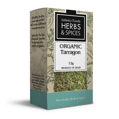 Infinity Herbs & Spices Organic Tarragon