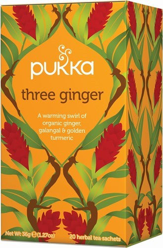 Pukka Three Ginger Herbal Tea