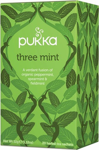 Pukka Three Mint Herbal Tea