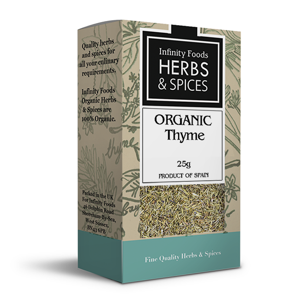 Infinity Herbs & Spices Organic Thyme