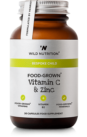 Wild Nutrition Children's FOOD-GROWN Vitamin C & Zinc