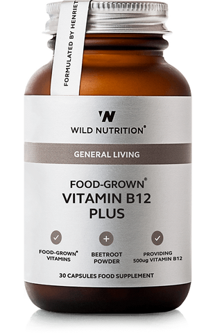 Wild Nutrition FOOD-GROWN B12 Plus