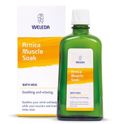 Weleda Arnica Muscle Soak Bath Milk