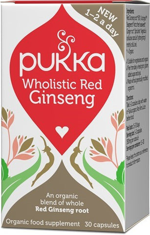 Pukka Wholistic Red Ginseng