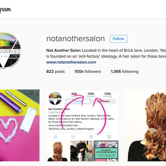 Not Another Salon hits 100K followers!
