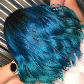 Hair Colour Inspo: Pantone Colour Of The Year 2020: Classic Blue