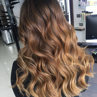 Warm Cinnamon Balayage: Style Of The Month, From Kaboodles Hairdressing