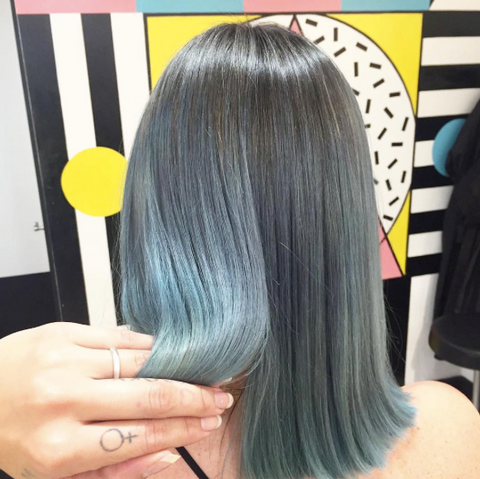 Ice Blue Hair Trend of 2016