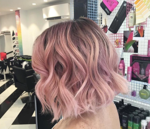 The Blush Balayage