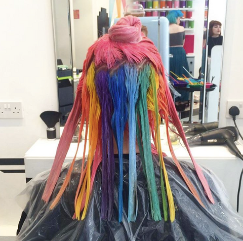 Hidden Rainbow Hair With Innoluxe