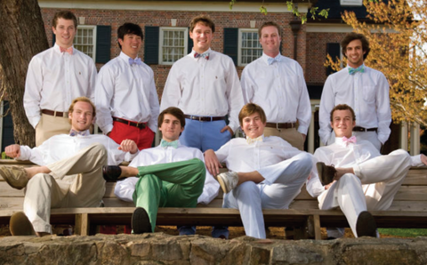Phi Gam Bench | High Cotton Ties