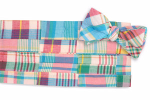Mulligan Madras Cummerbund Set