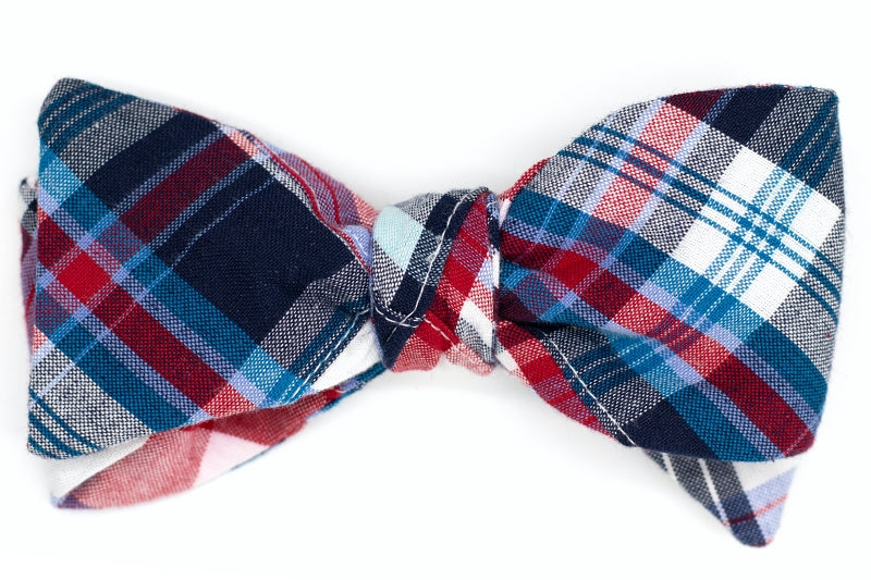 Patriotic Patchwork Bow Tie