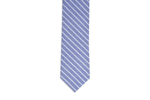 Beacon Stripe Necktie - Navy