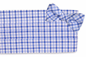 Blake Check Cummerbund Set