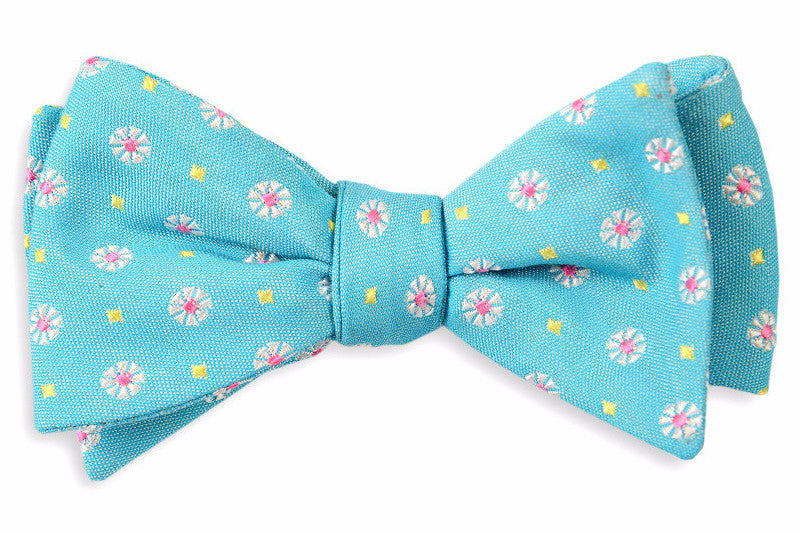 Blue Avery Bow Tie