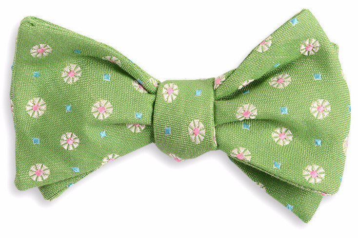 Green Avery Bow Tie