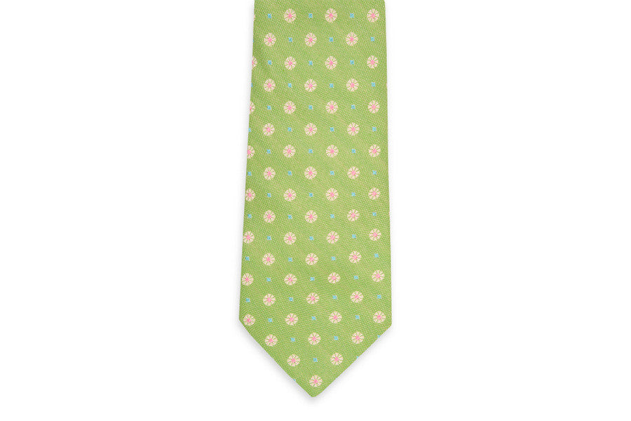 Green Avery Necktie