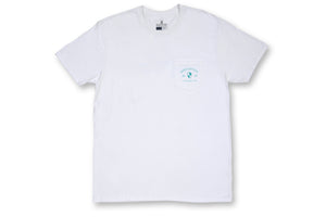 Cotton Crest Pocket Tee - White