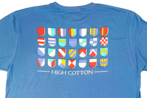 Heraldry Pocket Tee - Boardwalk Blue