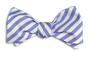 Nautical Navy Stripe Bow Tie