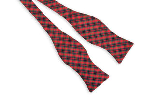 Mountain Resort Plaid Bow Tie