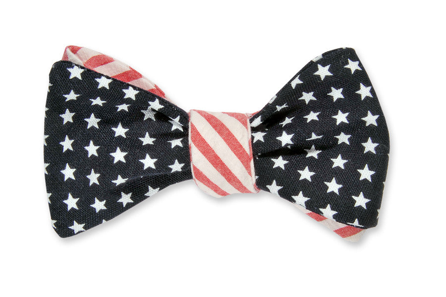 Stars & Stripes Reversible Bow Tie