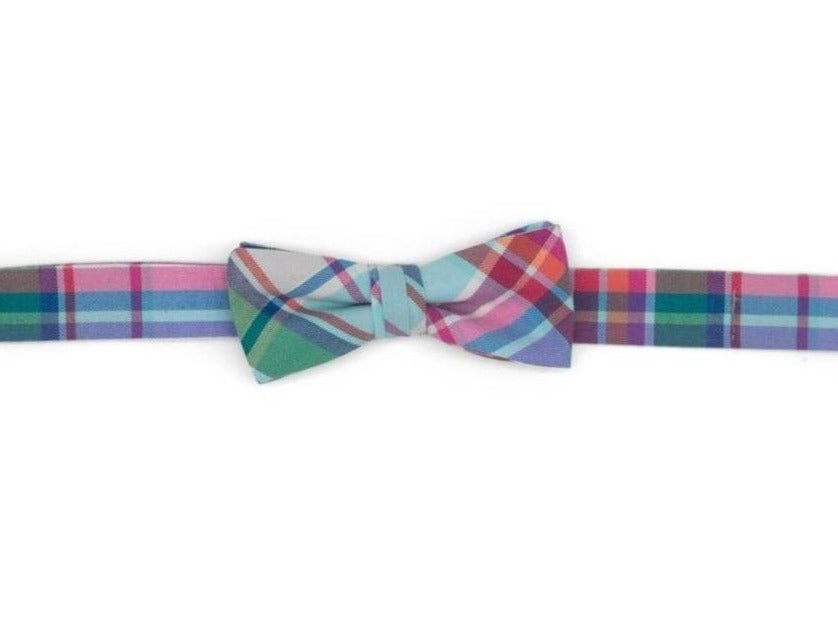 Palmer Plaid Boy's Bow Tie