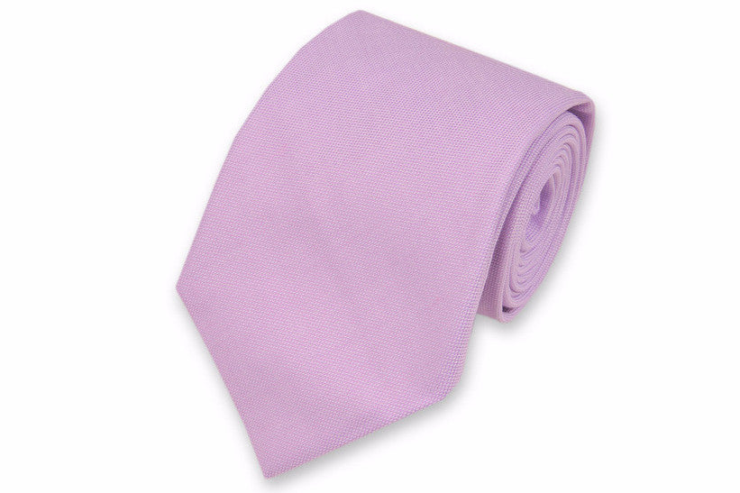 Lavender Oxford Cloth Necktie