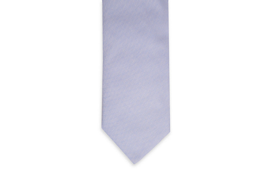 Light Blue Oxford Cloth Necktie
