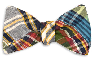 Tailgate Patchwork Bow Tie