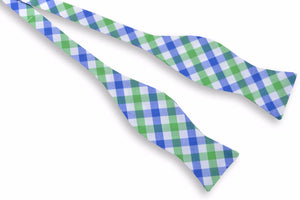 Battery Check Bow Tie - Green